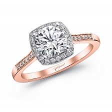 Coast Diamond Engagement Ring - rose gold 2480_0