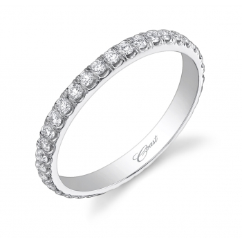 Coast Diamond Eternity Band, .64 TCW Diamonds, Similar to Mrs. George Clooney's Wedding Band