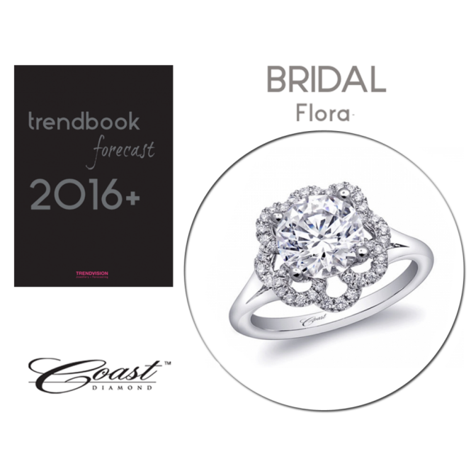 Coast Diamond Flora Engagement Ring