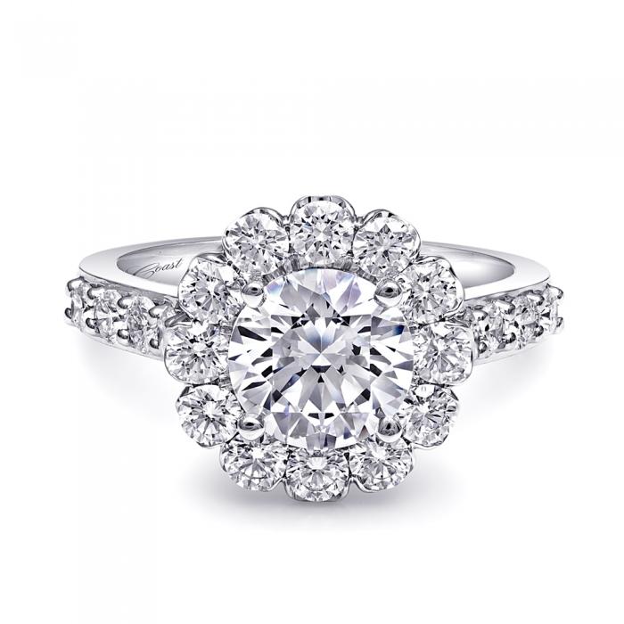 Coast Diamond Flora Engagement Ring - LS10133