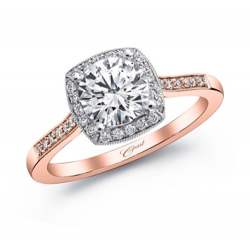 Coast Diamond Rose Gold Engagement Ring