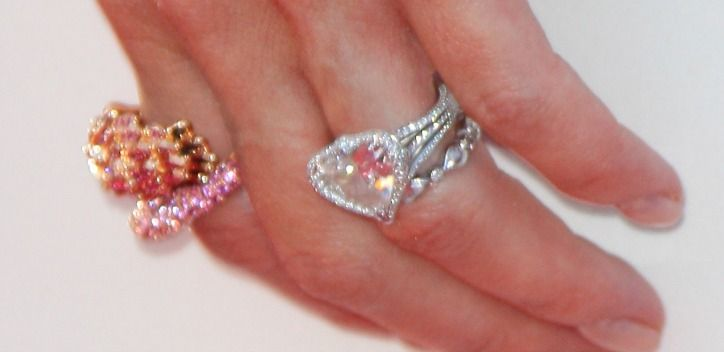 Heart Shaped Diamond Ring | eBay