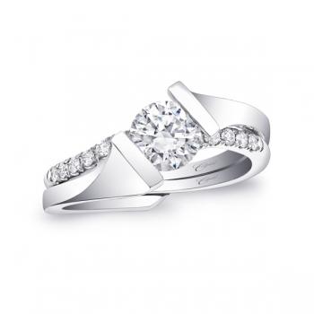 Coast Diamond Modern Engagement Ring