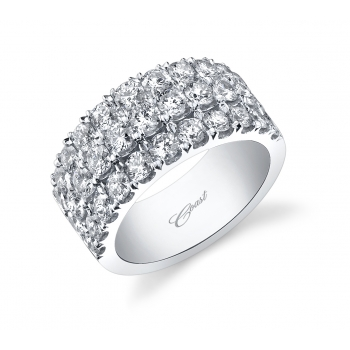 Coast Diamond Wedding Band - 2.56 Carats Total Weight