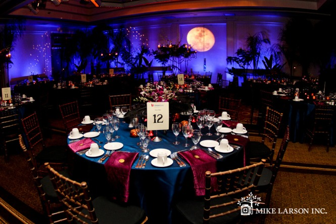 Eerily Beautiful Halloween Wedding Reception