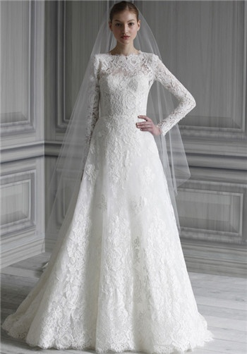 """Catherine"" Wedding Dress by Monique Lhuillier"
