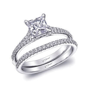 Coast Diamond Engagement Ring and Wedding Band at Lewis Jewelers: Product LC10116_WC10116