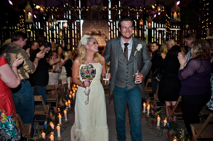 Love Coast Miranda Lambert Blake Shelton Wedding Pictures