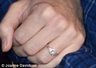 Hannah Bagshawe's Diamond Engagement Ring from Eddie Redmayne