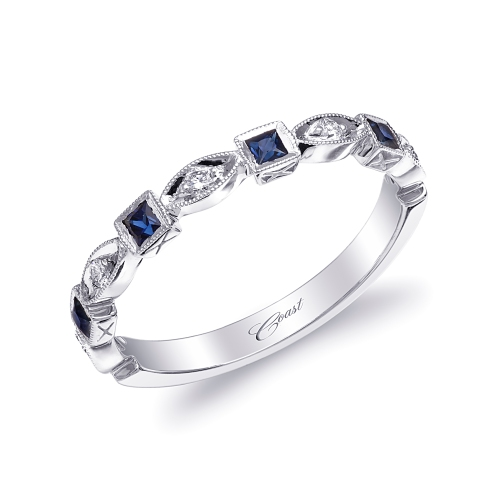 Coast-Diamond-Sapphire-and-Diamond-stackable-Wedding-Band