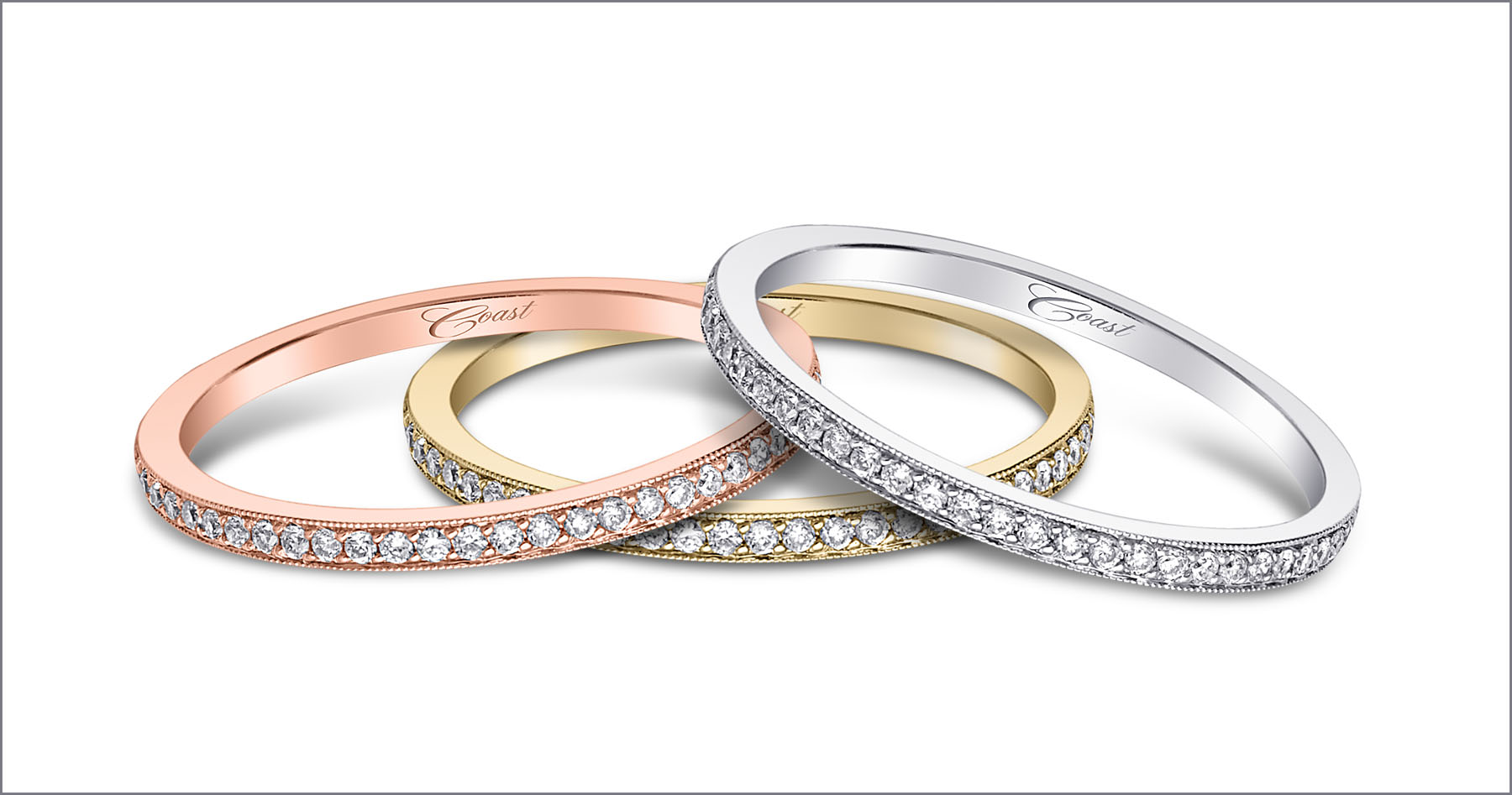 Coast Diamond Wedding Rings Of The Week Stackable Diamond