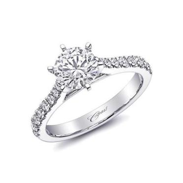 "Coast Diamond Solitaire Ring Named ""Sensational Engagement Ring Trend"" by Boston Globe"