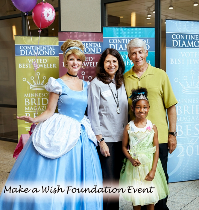 Jimmy and Helain Host Make-a-Wish Event at Continental Diamond in Minnesota