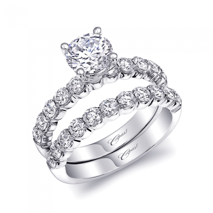 Coast Diamond Engagement Ring of the Week Classic 1 Carat Diamond Solitaire
