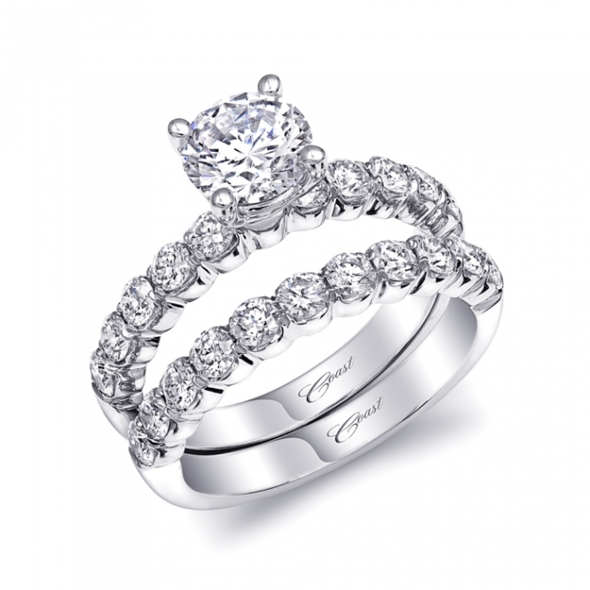 diamond engagement ring of the week classic 1 carat diamond solitaire