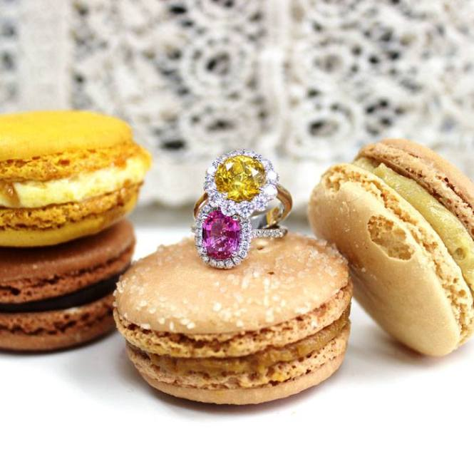 Coast-Diamond-Engagement-Rings-Macaroon-Cookies
