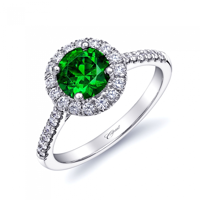 st patricks day engagement ring - Green Wedding Rings