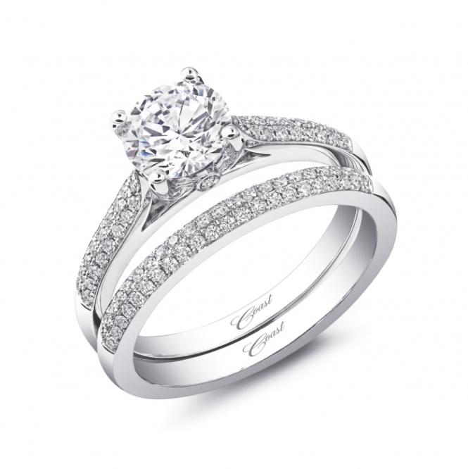 Coast Diamond Engagement Ring LC5446