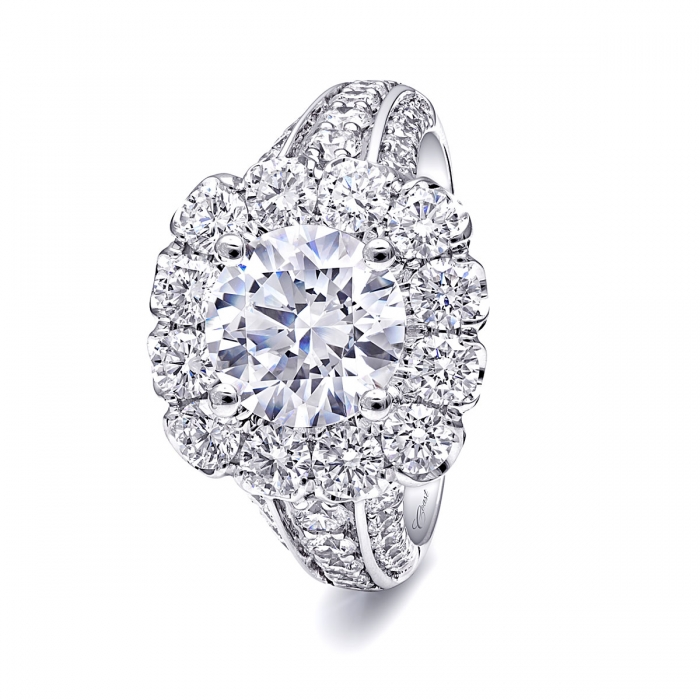 2 carat engagement ring coast