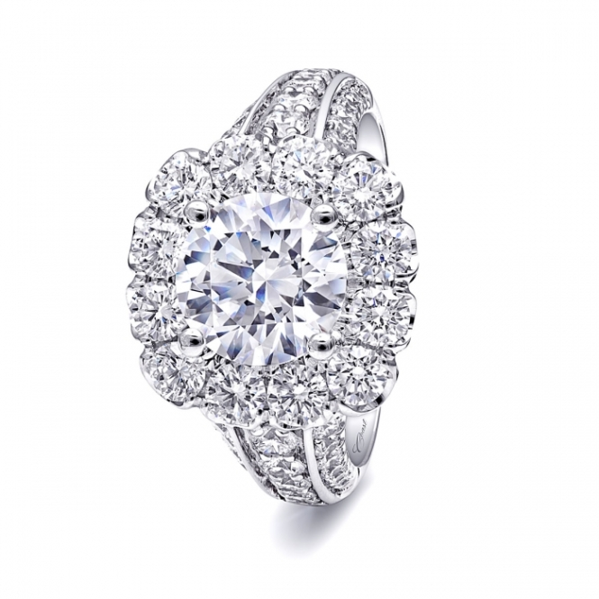 Coast Diamond 2 Carat Diamond and Platinum Ring