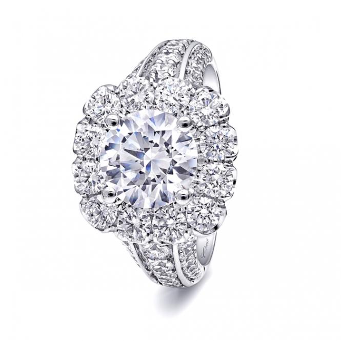 Coast Diamond 2 Carat Diamond and Platinum Ring