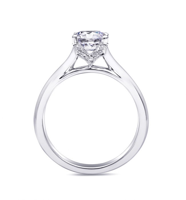 Coast Diamond One Carat Solitaire Engagement Ring (LC5229)