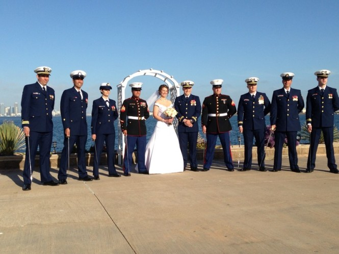 Military-Wedding-Diamond-Connection-San-Diego-Coast-Diamond