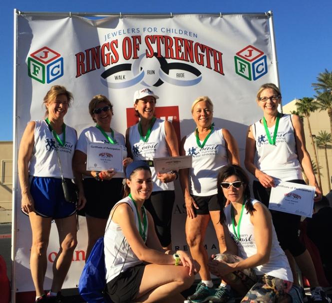 Coast Diamond Team Raises $3400 for JFC Charity