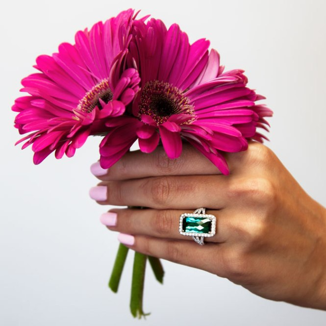 5-Rings-of-Summer-5-Carat-Green-Tourmaline-and-diamond-halo-ring-14k-white-gold-Coast-Diamond