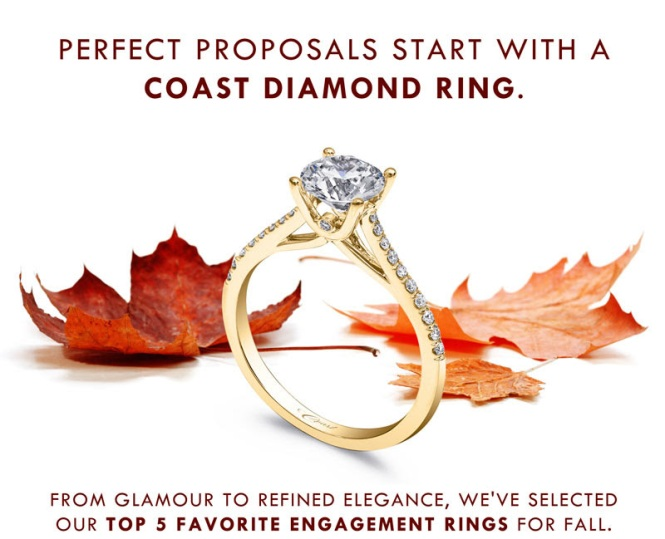 Coast-Diamond-Perfect-Proposal-Fall-Engagement-Rings