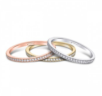 Coast-Diamond-WC5191H-Rose-Yellow-White-Gold-Band-vintage-milgrain-edging