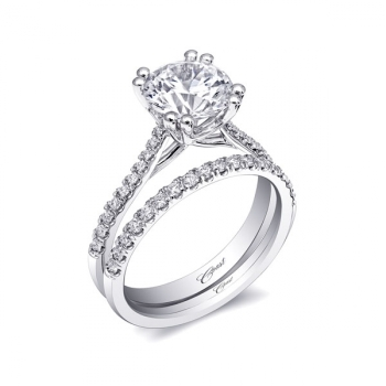 Coast Diamond Classic Engagement Ring (LC10022)