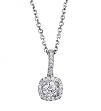Coast Diamond Fashion Collection Halo Diamond Pendant (PC5256)