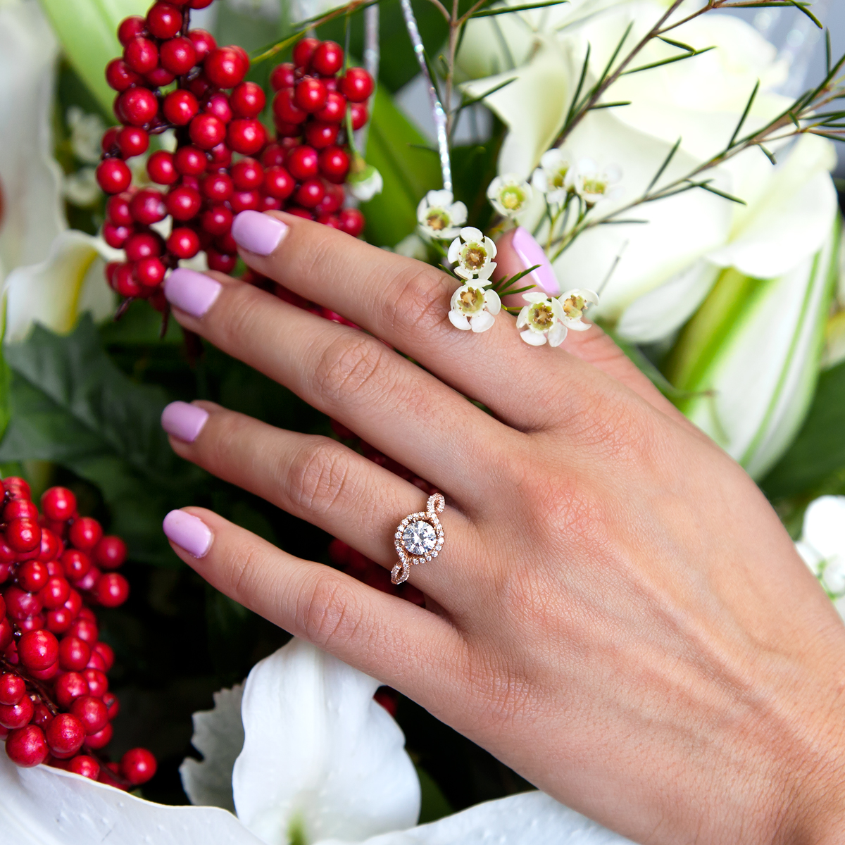 Austin Brides' Favorite Coast Diamond Engagement Rings for the Holidays at Diamonds Direct Austin, TX