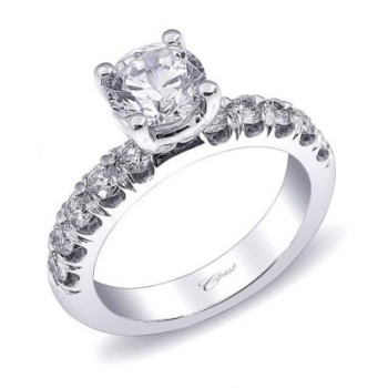 Coast Diamond 1CT round engagement ring LZ5019A