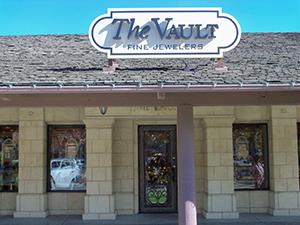 The Vault Fine Jewelry Fresno CA Storefront