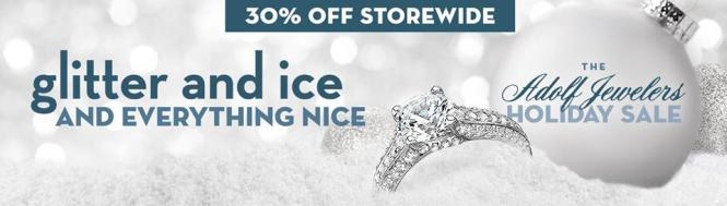 Adolf Holiday Sale featuring Coast Diamond Dec 11&12, 2015