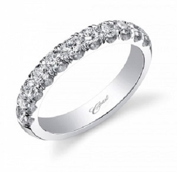 Coast Diamond White Gold Wedding Band (WZ5001H)