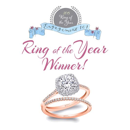 Engagement 101 2015 Ring of the Year Winner