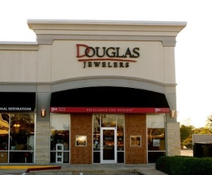 Douglas Jewelers College Station Texas storefront