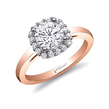 Coast-Diamond-cushion-shaped-halo-engagement-ring-rose-gold-shank-LC5381