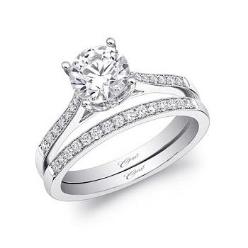 Coast-diamond-engagement-ring-LC5389-pave-diamonds-milgrain-edging-matching-wedding-band-WC5389