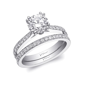 Coast-Diamond-art-deco-engagement-ring-LC5471-matching-wedding-band-WC5471