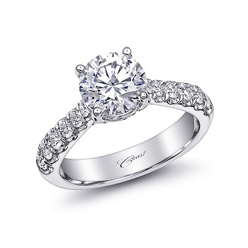 Diamond Cutters: Coast Diamond 1.5CT engagement ring (LS10170).