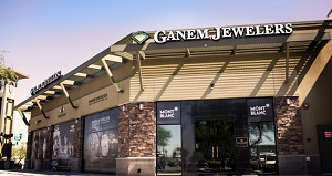 Coast Diamond featured retailer Ganem Jewelers Scottsdale AZ storefront