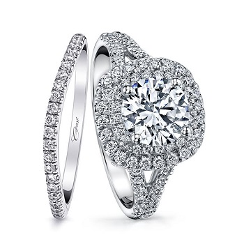 coast-diamond-2CT-double-halo-split-shank-engagement-ring-lc10021-wedding-band-wc10021