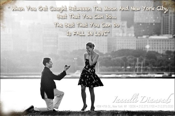 Iannelli Diamonds NYC holiday proposals