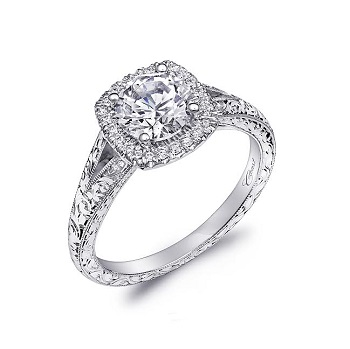 coast-diamond-hand-engraved-halo-engagement-ring-lc6061-milgrain-edging