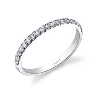 Coast Diamond fishtail set diamond band WC5183H