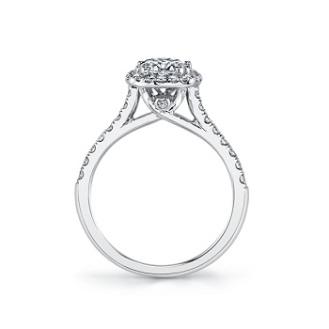 coast diamond cushion shaped halo engagement ring lc5256 surprise diamond view